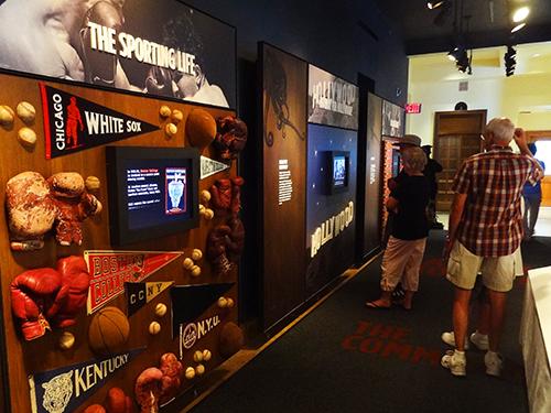 The Sporting Life exhibit