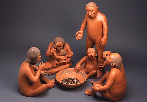 clay fugures