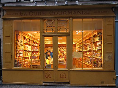 Gourmet shop in Ile Saint-Louis