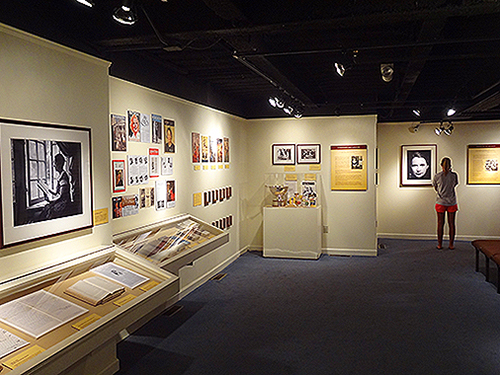 Exhibit at the Martha Mitchel House