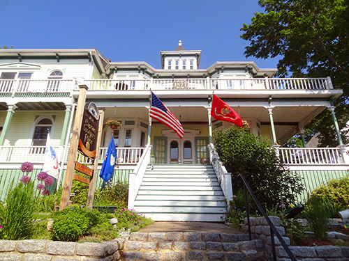 A B&B in Boothbay Harbor, Maine