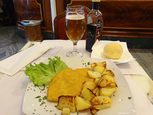 Lunch at Bar della Scala