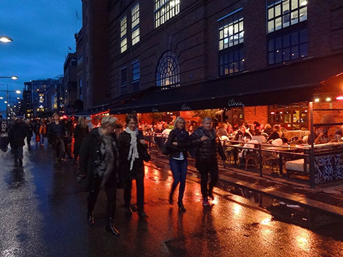 Restaurants on Aker Brygge
