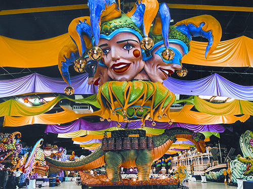 Mardi Gras World in New Orleans / photo: NewOrleansOnline.com/ Blaine Kern