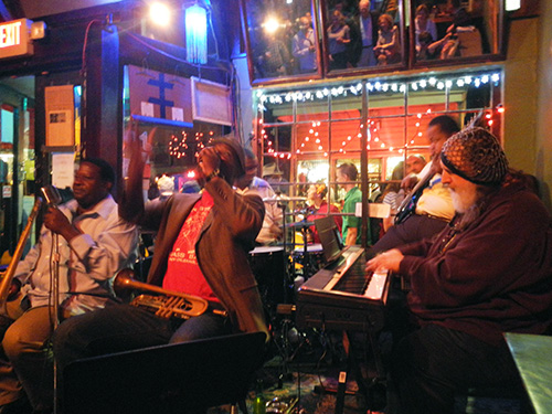 Spotted Cat Music Club on Frenchmen Street in New Orleans / photo: Carla Marie Rupp