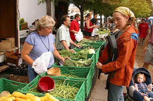 Downtown Farmer's Market in Innsbruck / photo: Visit Salt Lake, Eric Schramm