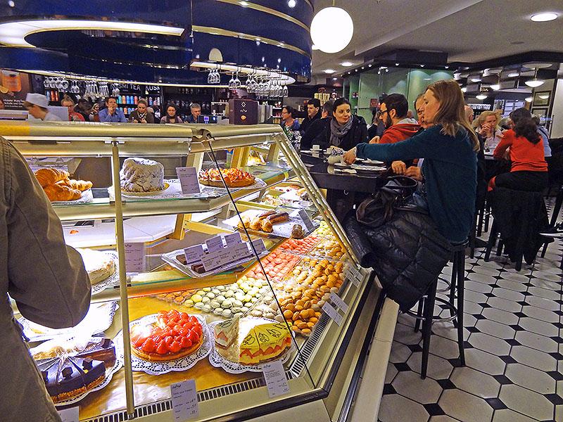 KaDeWe, Berlin, a food market in Europe