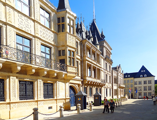 The Grand Ducal Palace in Luxembourg