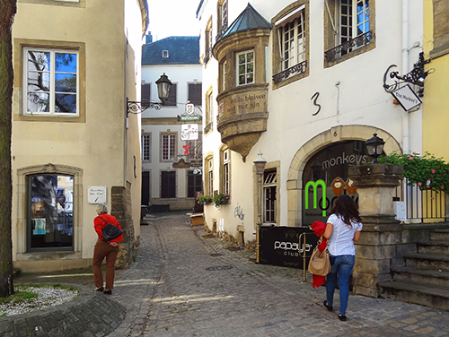 A lane in The Old Town