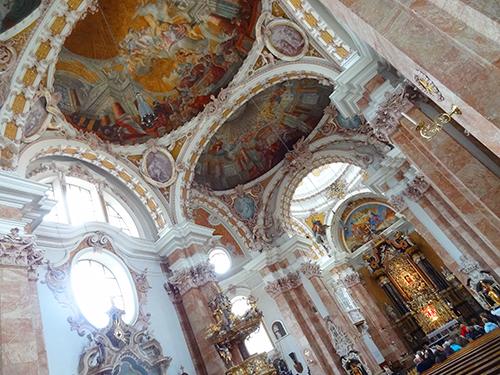 Innsbruck's Cathedral of St. James in Innsbruck