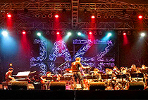 Musicians at the Thailand International Jazz Conference