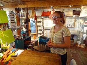 a shopkeeper in Ile d'Orleans