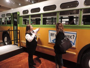 Rosa Parks bus, Henry Ford Museum in Detroit
