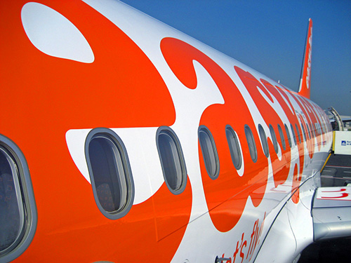 easy jet - one of the first carriers offering bargain travel