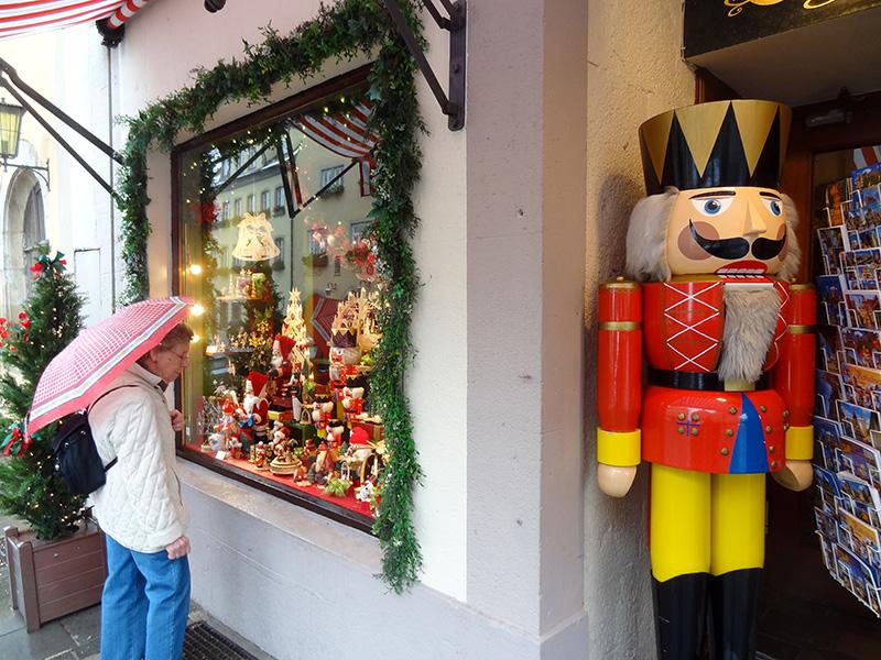 a shop seen on Christmas river cruises