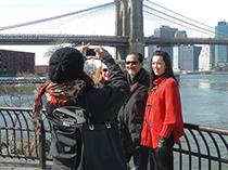 Brooklyn Bridge Park in Brooklyn seen on the pizza tour Brooklyn