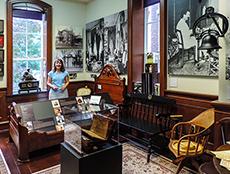 The Mark Twain Exhibit at Elmira College in New York