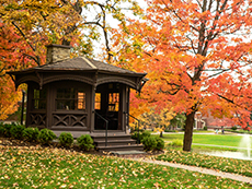 Twain's study on the grounds of Elmira College in New York