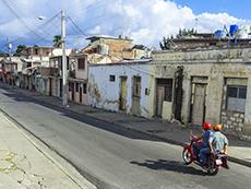 A street in Santiago de Cuba
