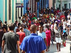 Calle Heredia in Cuba