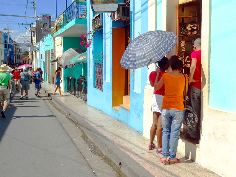 Calle Aguilera in Santiago de Cuba