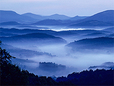 Great Smoky Mountains, one of the UNESCO sites in the USA / photo: VisitNC