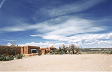 Herb Lotz, 2007. in New Mexico © Georgia O'Keeffe Museum