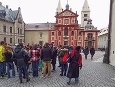Courtyard, Prague Castle