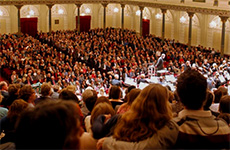 people at a concert at the Concertgebouw, Amsterdam