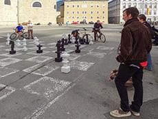 Chess, Kapitelplatz, Salzburg