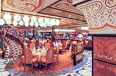 The_Restaurant degli Argentieri on the Costa Mediterranea