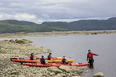 people be trained in kayaking in Québec