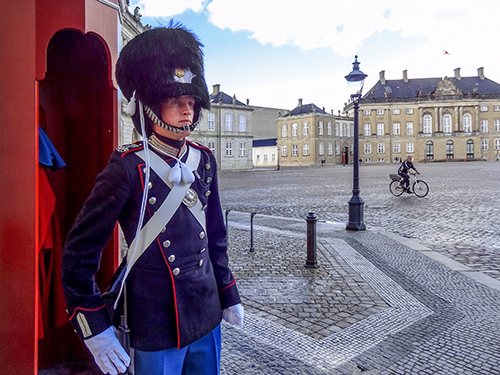 a Guard in Copenhagen where you'll find the best travel value