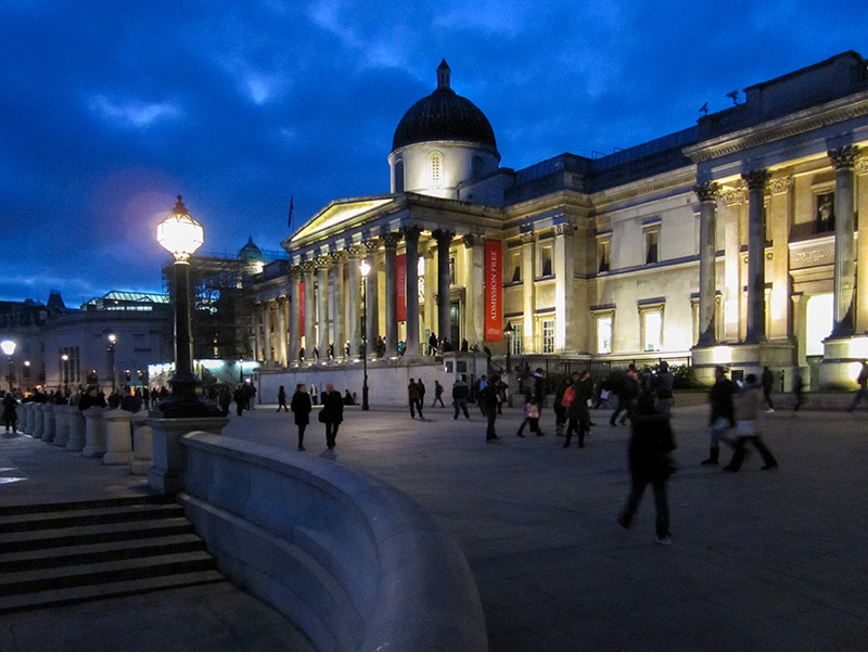 The National Gallery in London's West End