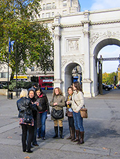 Marble Arch in London's West End
