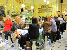 Harrods' food hall in Europe - one of the enjoyable European experiences