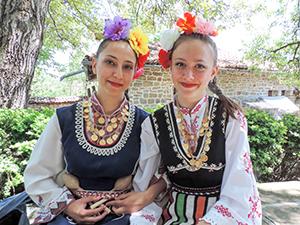 Dancers in Arbanassi, Bulgaria