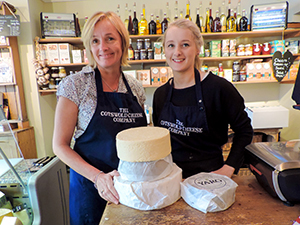 visiting a cheese shop in England, one of the best things to do in the Cotswolds