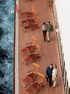 people on cruise ship deck