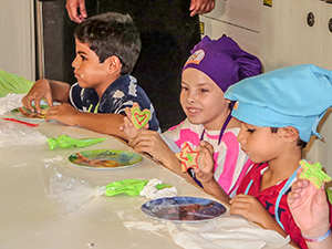 Children's cooking class / photo: GRM
