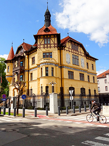an Old-World European house in one of the best Eastern European cities