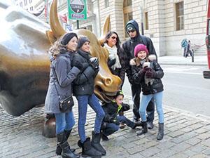 The Bull on Wall Street