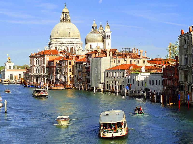 a canal in Venice near one of my hidden gems in Europe