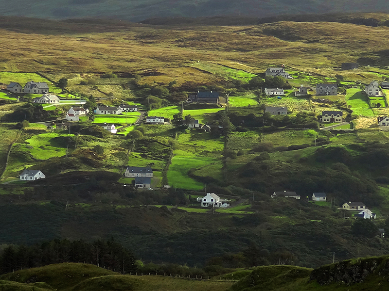 a verdant valley