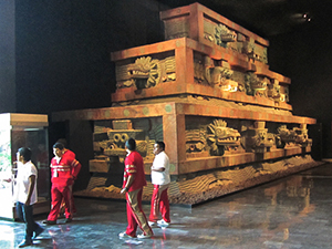 a museum exhibit one of the places in Mexico City to visit