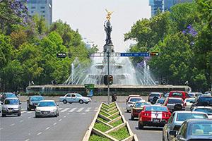 a boulevard with autos