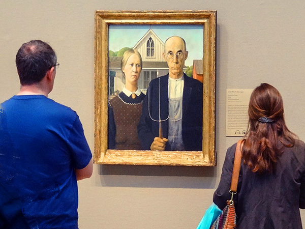 """the painting """"American Gothic"""""""