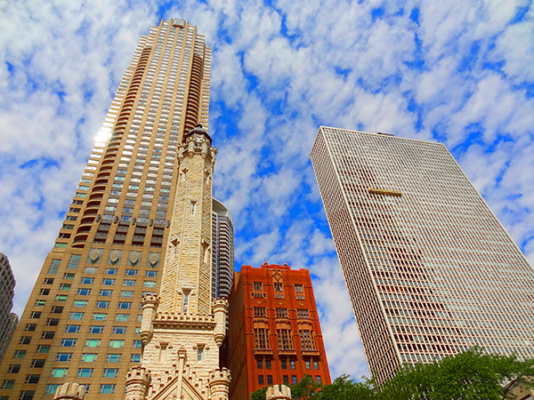 skyscapers in Chicago