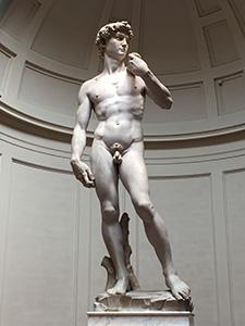 Michelangelo's David in Florence