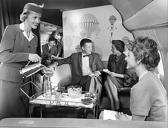 early days of air travel
